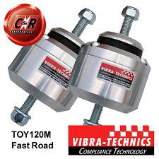 Fits 2 x Supra 7M GTE 88-93 Vibra Technics Engine Mounts - Fast Road TOY120M