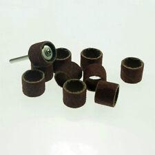 100pcs Abrasive Sanding Band Grit:150 + 10pcs Mandrel Shank 2.35mm Polisher