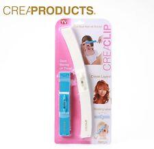 Original CreaClip Set Professional Hair Cutting Tool Clip Bangs Layers Hairstyle