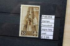 FRANCOBOLLI STAMPS REGNO ITALY USATI (F46359)