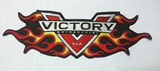 VICTORY LOGO FLAME BADGE PATCH VEGAS BOARDWALK JUDGE HIGHBALL OCTANE GUNNER SALE