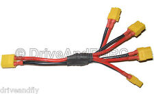 XT60 1 Male to 4 Female Parallel Connection Quadcopter Power Distribution Cable