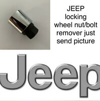 JEEP LOCKING WHEEL BOLT/NUT KEY/MASTER KEY REMOVER ALL NUMBER JUST SEND PICTURE