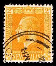 1916 NEW ZEALAND #147 KING GEORGE V -  WMK 61 - USED - VF - CV$35.00 (ESP#2845)