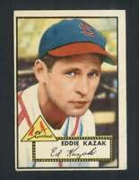 1952 Topps #165 Eddie Kazak VGEX Cardinals 108583