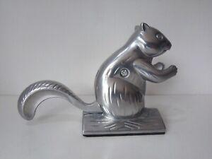 "Squirrel Nutcracker 5.5""  Aluminum Christmas Novelty Nut Cracker Ornament"
