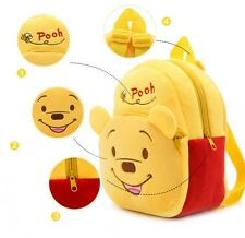 New Kid's Backpack Winnie the Pooh Kindergarten School Bag 23*21*9cm Xmas Gift