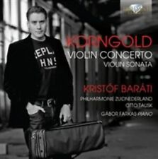 Erich Wolfgang Korngold: Violin Concerto & Violin Sonata, New Music