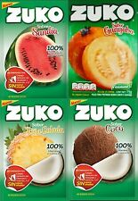 ZUKO Many Flavors No Sugar Needed Makes 2 Liters Of Drink Mix 15g From Mexico