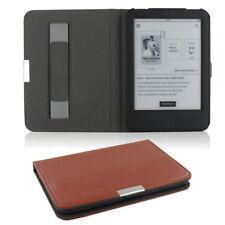Flip Tasche für Tolino Shine 2 HD Leder-Imitat Schutzhülle Case Etui braun Cover