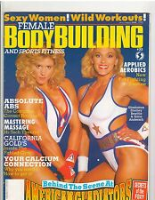 Female Bodybuilding Women's Muscle Mag /Shelley Beattie/Erica Andersch 3-93 #32