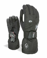 Level Glove W Black Waterproof Breathable Warming Insulating Plain Colour