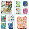 Diapers Nappy+ Insert Reusable Cloth Baby One Pocket Size Soft Bamboo