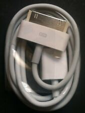 Original Genuine Apple iPhone 4 4S 3GS 3G 30 Pin to USB Sync Data Cable Charger