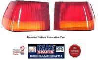 HOLDEN LEFT & RIGHT HAND REAR TAIL LIGHT LENS SUITS HJ HX HZ SEDAN GTS MONARO