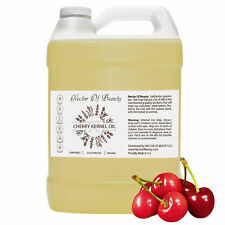 Pure Cherry Kernel Oil 128 oz 100% Unrefined Cold Pressed Cherry Seed Oil 1 Gal