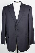 Gieves Hawkes Mens 41R No1 Savile Row Black Pinstripe Blazer Jacket Sport Coat