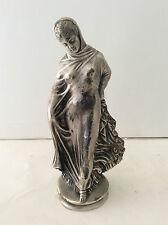 Tanagra Femme voilée ou La danseuse de Titeux bronze argenté anonyme CIRCA 1975