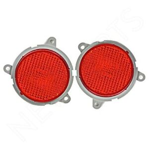 For BMW Z4 Genuine Pair Rear Set of Left & Right Red Side Marker Lights E85 E86
