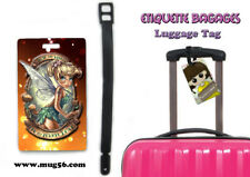 Etiquette bagage / luggage tag - disney - tinkerbell fée clochette 01-001