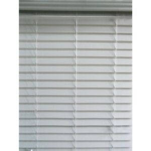 """Roth Cordless 2/"""" Faux Wood Blinds White 28.5"""" x 64"""" 0924693 BRAND NEW Allen"""