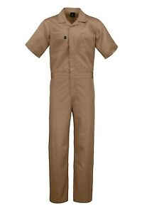 Kolossus Deluxe Short Sleeve Cotton Blend Coverall with Multi Pockets