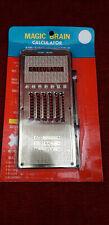 machine a calculer VINTAGE mécanique  MAGIC BRAN mechanical calculating machine