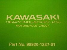 OEM Kawasaki 85 KX60 Race & Preparation Tuning Service Manual