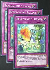 Set 3X BENEDIZIONE SILVANA  LVAL-IT073 Trappola Comune in Italiano YUGIOH