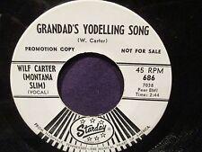 Wilf Carter (Montana Slim) Grandad's Yodelling Song PROMO 45