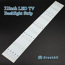 """2pcs x 32""""inch  LED Strips w/ Optical Lens Fliter TV Panel Backlight lamp 631mm"""