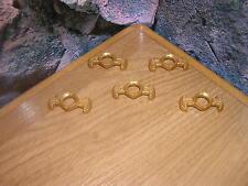 ( SK2 / 15 ) 5 x Kragen Epaulette  gold groß Garde Soldaten ACW 3740