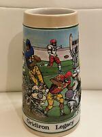 1990 Vintage  Limited Edition Budweiser Football Grid Iron stein Football Mug