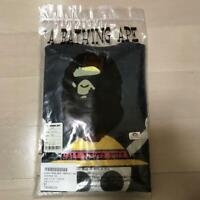 A Bathing Ape x One Piece Collaboration T-shirt Skull monkey camo pattern