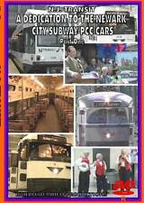 NJ Transit A Dedication to the Newark City Subway PCC Cars Part 1 DVD NEW