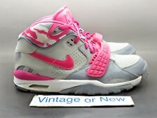 Girls' Nike Air Trainer SC II Vivid Pink Grey White Bo Jackson 2014 sz 7Y