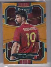 2017-18 Diego Costa #/75 Panini Select Spain Orange Prizm