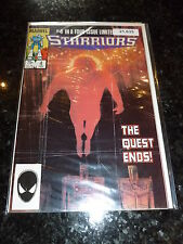STARRIORS Comic - No 4 - Date 02/1985 - Marvel Comic
