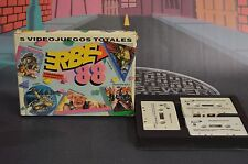 5 total games Erbe 88 Coliseum, operation wolf, titanic msx shipping 24/48h