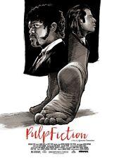 Pulp Fiction. Let's Go por Joshua Budich. impresión de edición limitada.