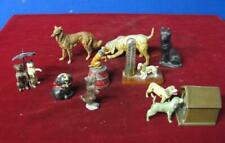 Collection of Vintage Cast Iron & other Metal Dogs