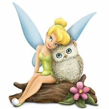 """Disney Tinkerbell """"Owl Always Love You"""" Figurine by Hamilton Collection"""