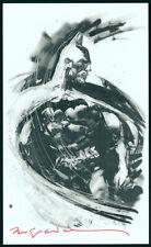 Bill Sienkiewicz SIGNED DC Comics Art Print ~ Batman The Dark Knight