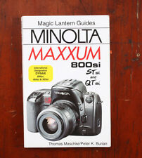 BOOK: MAGIC LANTERN GUIDES MINOLTA MAXXUM 800si, STsi AND QTsi, 2000/210747