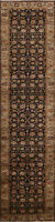 Fine Agra Vegetable Dye Wool Floral Oriental Runner Rug Hand-Knotted 3x12 Carpet