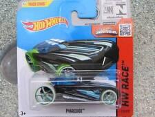 Hot Wheels 2015 #172/250 PHARODOX Negro HW CARRERA FUNDA CAJA
