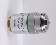 Leitz FLUORESZENZ 25x Oil Immersion 160mm TL Microscope Objective