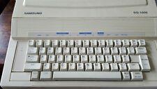 Vintage Samsung SQ-1000 máquina de escribir electrónica probado se enciende clics CLACKS
