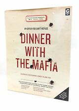Ginger Fox Dinner with the Mafia Mob Themed Dinner Party Kit Trivia Dining Game