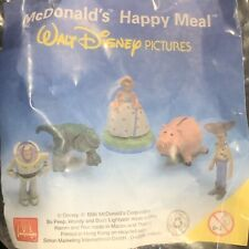 McDonalds Toy Story complete Set of 5 MIP Disney Woody 1996 Disney Movie Buzz